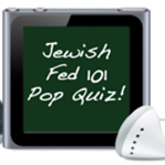 JewishFed 101 Pop Quiz