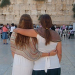 Diller Teens at the western wall