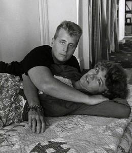 Leslie Feinberg with Minnie Bruce Pratt