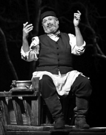 Harvey Fierstein dressed as Tevye in the San Francisco production of Fiddler on the Roof in 2010
