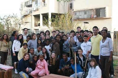 Cleveland Diller Teens visit an Ethiopian School